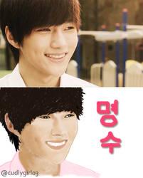 INFINITE   Kim Myungsoo Art v1.0 by cudlygirl03