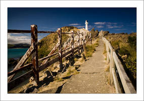 Castlepoint Pathway by whhoah