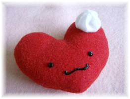 Sweetheart Plushie by MythrilAngel