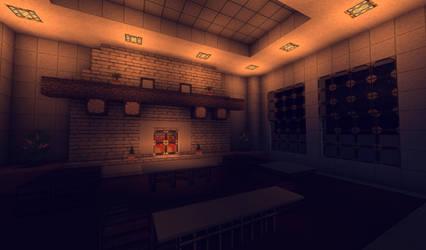 Room Box 001 - Stylish Living Room by MythrilAngel