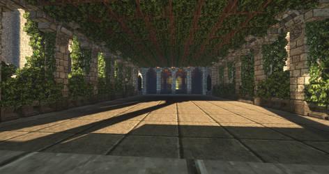 Tainted Halls - A lofty vineyard by MythrilAngel
