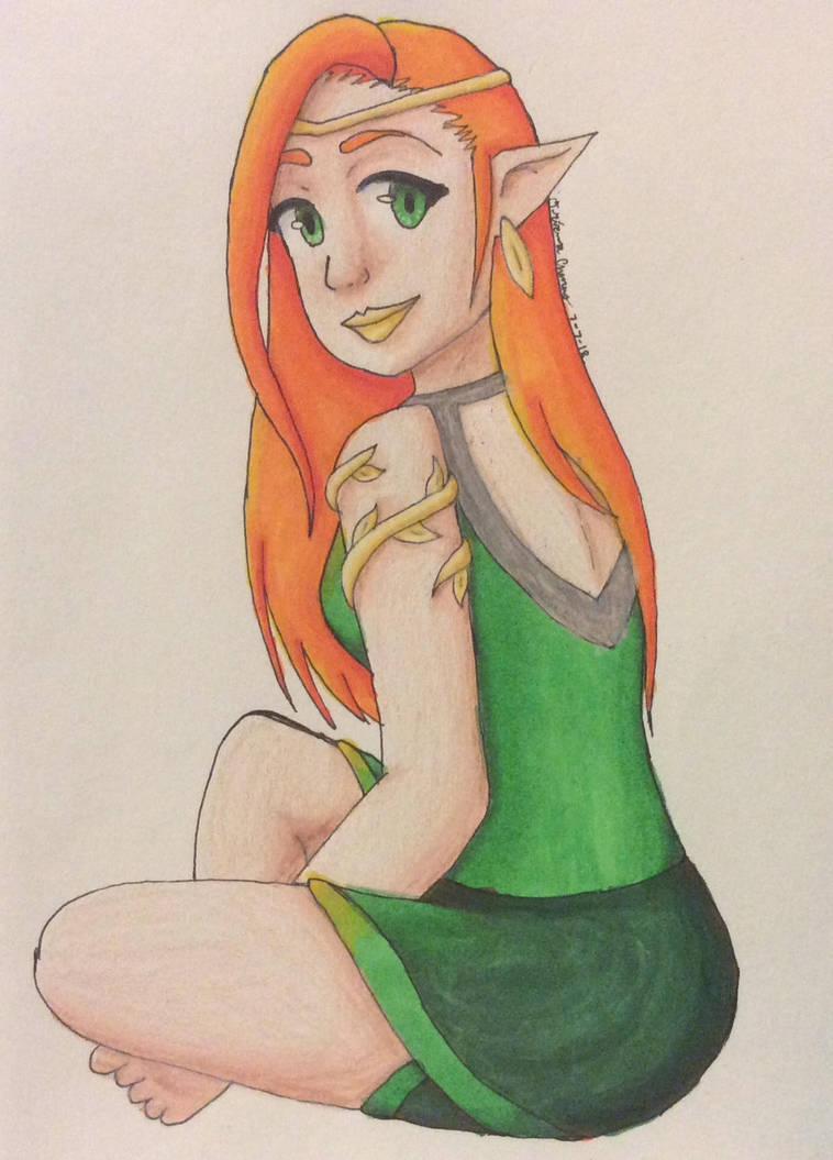 Forest Elf by SilverstarTM
