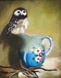 Owl by Mandi Cai by samxinzhang