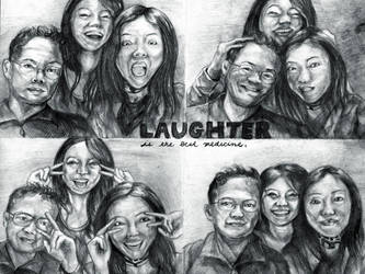Laughter is the Best Medicine by Mandi Cai by samxinzhang