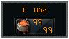 I haz 99 Cooking stamp by Wub-Me