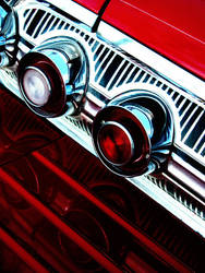 Art in Chrome and Red by clfry