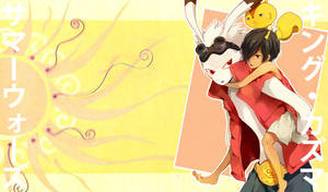 Summer Wars: Kazuma wallpaper2 by haelwyn