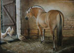 Visitors - Acrylic Painting by ooBLACKNIGHTINGALEoo