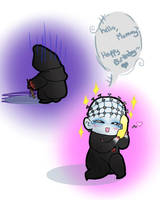 Hello, Mummy... by Obsequious-Minion