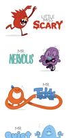 The Mr. Men Show by Obsequious-Minion