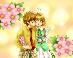 Sakura and Syoran by DaniMiruku