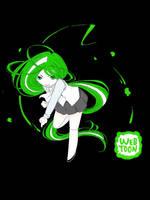 Webtoon Mascot by PiperOfGameln