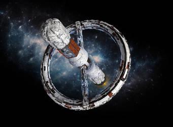 Space station by grafik1991