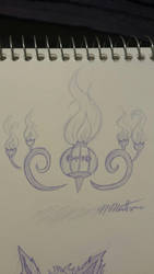 Chandelure by nikki45e