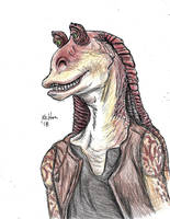 Jar Jar Binks by redsonya131313