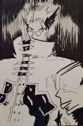 New York Comic Con 2016 - Trigun Commission by NewYorkVash