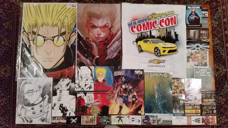 New York Comic Con 2016 - All the Stuff by NewYorkVash