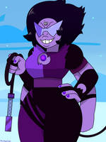 Short Haired Sugilite by MrChaseComix