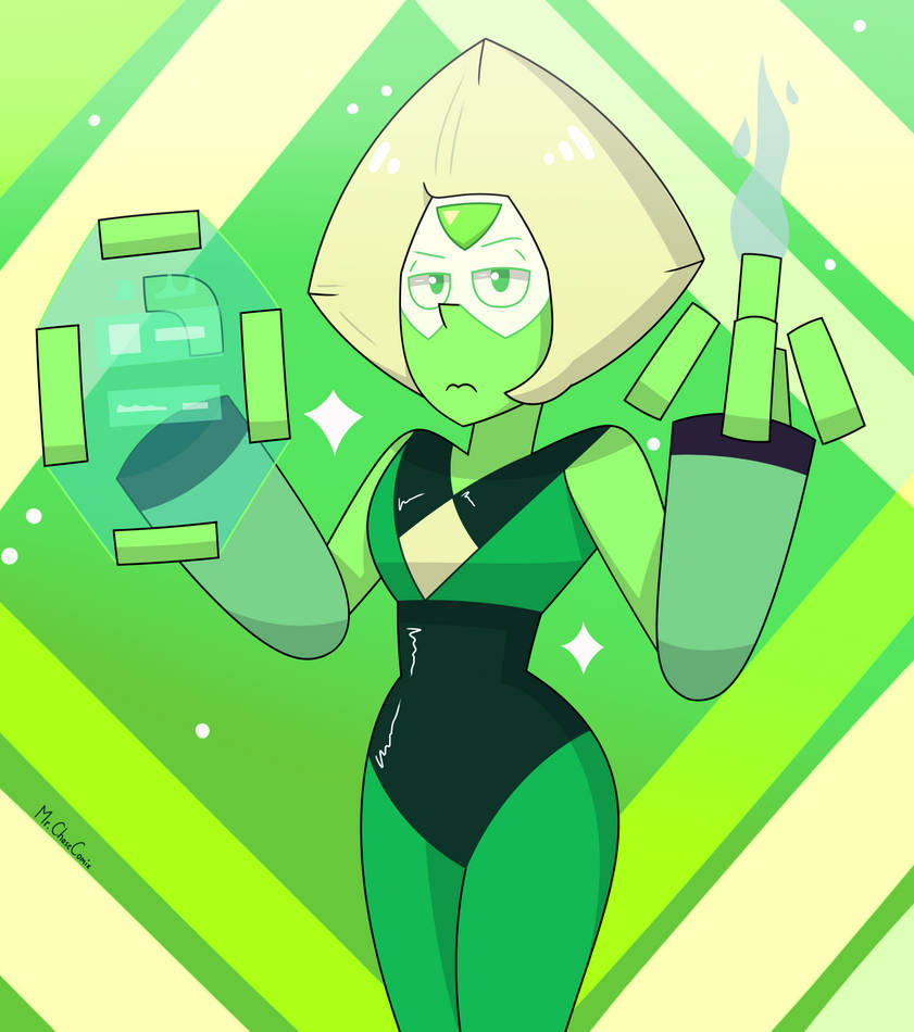 Did a little bit more practice for the upcoming project. Unfortunately, Peridot won't be in it, I just wanted to draw her because I haven't done the limb enhancers version for a while n...