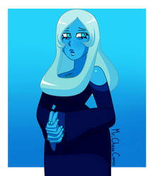 Blue Diamond (Style Experiment) by MrChaseComix