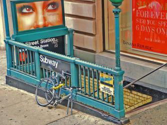 NYC Subway by JWalkerimages