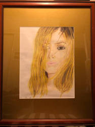 Colour Pencil Practice - Framed by EnlightArtment