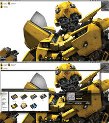 Transformes V3 - Bumblebee by JLOW00