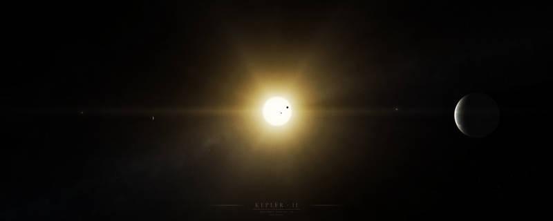Kepler-11 by Alpha-Element
