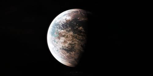 Kepler-186f by Alpha-Element