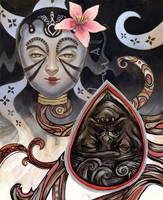 Conversing Masks - Part 1 by ChanpART