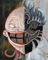 Conversing Masks - Part 2 by ChanpART