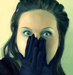eyes and gloves by Forcetan
