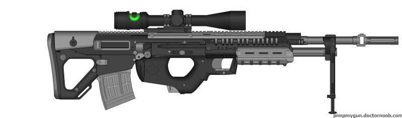 M-24 Horus Anti-Material Rifle by ExtendedProject