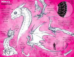 Miko Dragon Ref by bezzalair