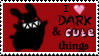 Dark and Cute Stamp by bezzalair