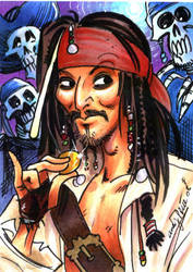 Jack Sparrow by andypriceart