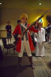 Revolutionary War England by AnimeArtFreak91