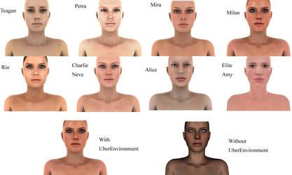 Realistic Skin In Daz by JulieKrizan