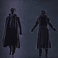 Sherlock sketches by PatheticMortal