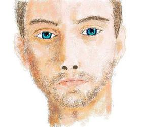 man in paint by dillian