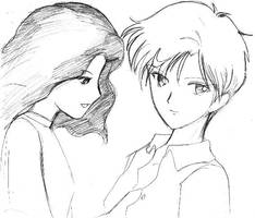 haruka and michiru by dillian