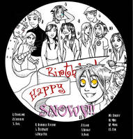 Snowy's Birthday by MossLilys