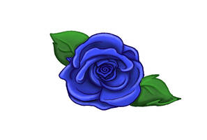 Blue Rose by MossLilys