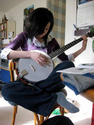 Banjo by MossLilys
