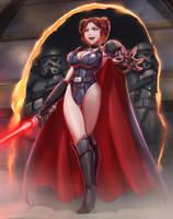 Dark Lord Leia by LeeBigTree