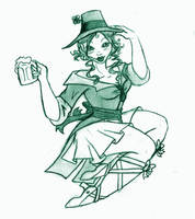 Happy St. Patty's Day by InkCell-Illustration
