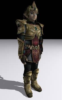 Link wearing Magic Armor by DarklordIIID