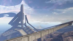 Halo 3 Desktop - The Ark by DarklordIIID