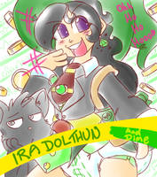 ABDL Trading Card-Ira Dolthun by RFSwitched
