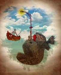 Angler's Demise by kooky-love